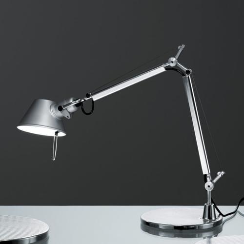 Artemide Tolomeo Micro Tafellamp AR A0119W00 Aluminium
