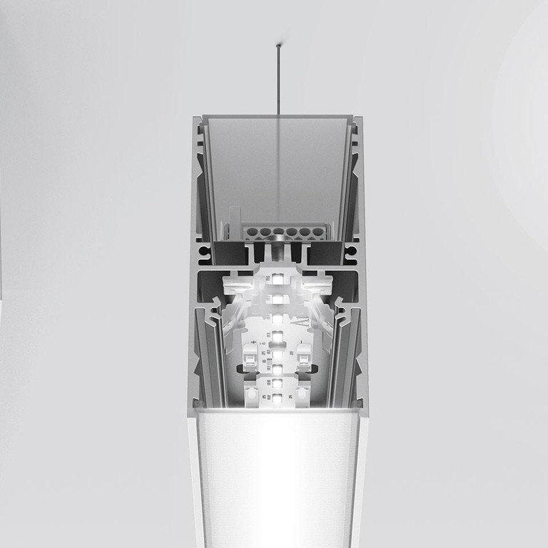 Artemide Architectural A.39 L1480 AR AT22305 Zilver