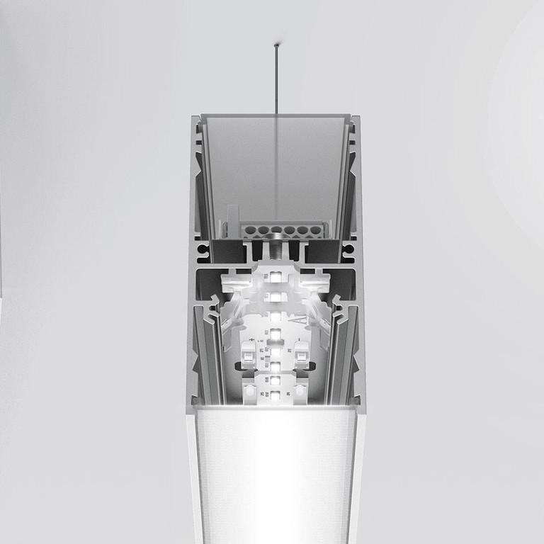 Artemide Architectural A.39 L2960 AR AT18105 Zilver