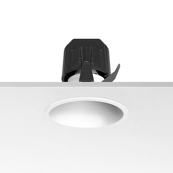 Flos Architectural Light Supply Fixed Trim LED DIM CRI 90 AN 03.6811.1C.DA Zwart / aluminium