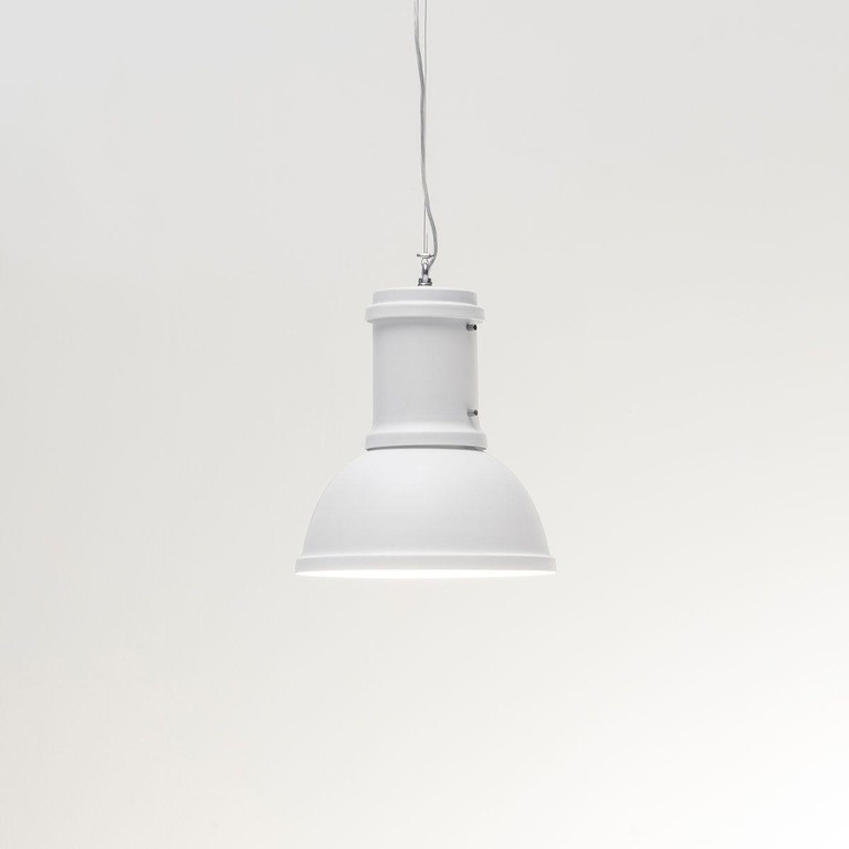 Fontana Arte Lampara Hanglamp, Large FT F500090200BINE Wit